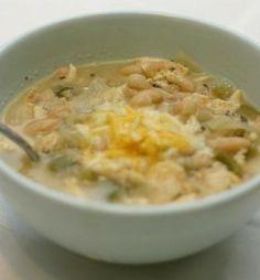 Fall Meal Idea: White Chicken Chili and Homemade Cornbread!