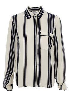 Baum und Pferdgarten - Skjorte - Mani Shirt - Navy/Creme Strib