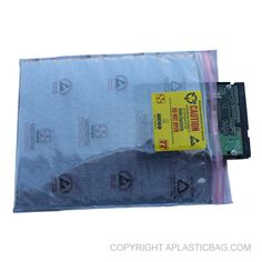 #StaticShield 3 Layer #ZipClose #Pouch - Heavy duty multi-layer Static Shielding cushion provides faraday cage for RFI protection with ESD Safecell cushioning. Inner layer of E.S.D protection and a press seal zipper closure. #antistatic #bubblebag #recloseable #barrier #conductive  #zippouch