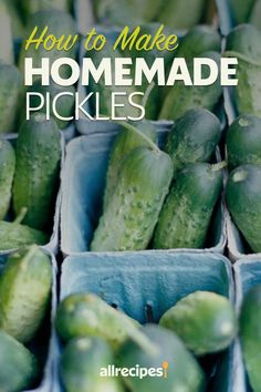 Home Canning Recipes, Cooking Recipes, Sour Pickles, How To Make Pickles, Fajita Vegetables, Canning Food Preservation, Homemade Pickles, Food Shows, Canning Equipment