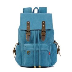 Canvas Leisure School Backpack