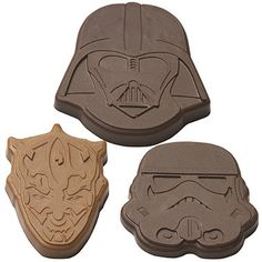 Star Wars™ Villains Chocolate Mould - From Lakeland