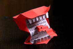 Harry Potter Origami - Howler - Berrador