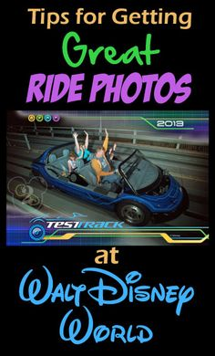 """You don't want an """"ugly"""" ride photo!  Find out how to get the best ones (and the locations of the ride cameras)!"""