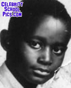 Luther Vandross at seven years old.