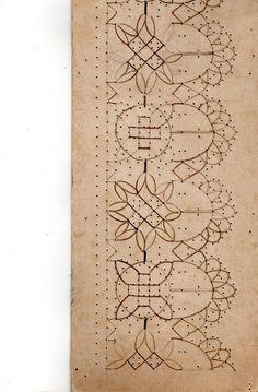 Patrones antiguos de encaje a bolillos, Francia, Siglo XIX - Doris - Picasa Web Albums