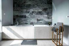 Nordic gray modern home interior design 19