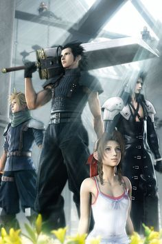 Zack and the lot in Crisis Core /Final Fantasy VII/