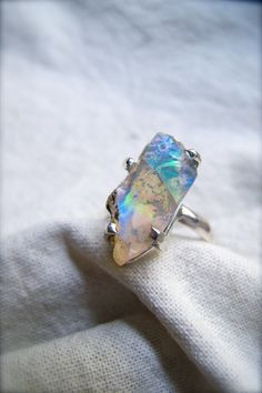 Rarest Beauty Fire Opal Ring.