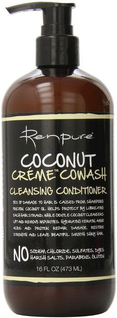 Amazon.com : Renpure Coconut Creme Cowash Cleansing Conditioner, 16 Ounce : Beauty