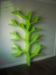 Półka drzewo 210x130x25cm. Moja realizacja