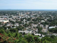 View of the city of Ponce