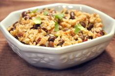 Recipe: Easy Beef, Rice & Beans