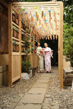 Fuurin, yukata e accessori sono disponibili online..