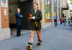 5 Ways to Wear PJ's Like Milan Fashion Week's Top Street Style Stars —- trousers