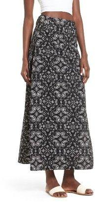 361833427f Eileen Fisher $218 Black Organic Cotton Jersey Slit Midi Knit Pencil ...