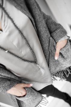 Outfit #aw15 #grey #fashion #hali.fi #kauniainen #lifestyle #store #delicatelove