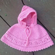 Crochet For Children: Baby Poncho - Free Pattern