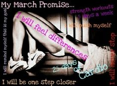 My New March Promise