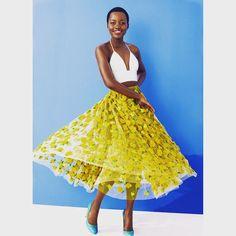 Lupita Nyong'ofor Lancôme - Vogue Australia