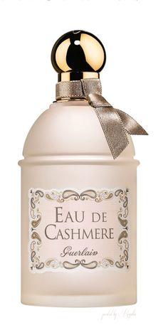 Eau de Cashmere Guerlain perfume - a fragrance for women and men 2014 Amo Perfume, Guerlain Perfume, Fragrance Parfum, New Fragrances, Perfume Bottles, Perfume Collection, Smell Good, Rochelle Goyle, Men's Cologne