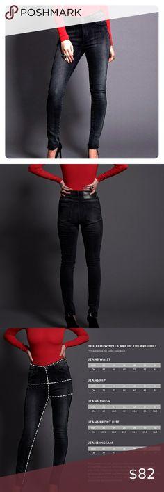 One Teaspoon High Waist Vtg Black Jeans One Teaspoon High Waist Skinny Jean Vintage Black Color Features The Signature Bird Button
