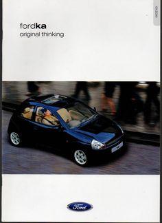 Ford Ka - 24 Sided Brochure 2000 (A1)