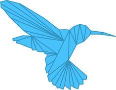 Origami, Humming Bird, Bird Free Pictures, Free Images, Make A Donation, Hummingbird, Origami, Hummingbirds, Origami Paper, Origami Art