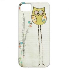 whimsical owl iphone 5 case...so cute