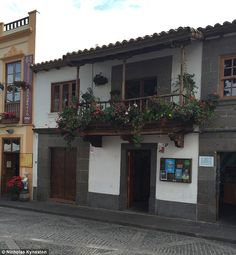Casa t pica canaria arquitectura pinterest - Casas de madera en gran canaria ...