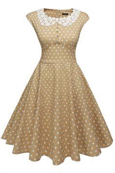 Stylish Ladies Women Sleeveless O-neck Front Button Decoration Casual Dresses