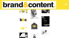 Brand & Content - boutique brand & content management consultancy #website