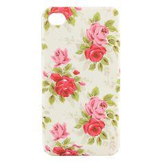 stijlvolle bloem harde koffer voor iPhone 4/4s – EUR € 2.75