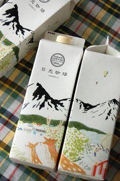 Branding Best Amazing Japanese Packaging Design Ideas – Home and Apartment Ideas Laminate Floori Milk Packaging, Coffee Packaging, Beverage Packaging, Pretty Packaging, Brand Packaging, Design Packaging, Bottle Packaging, Japan Design, Web Design