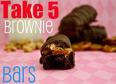 Take 5 + brownies...yum.