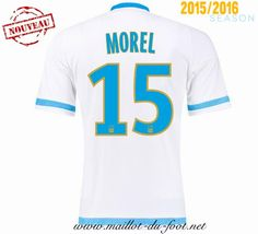 la boutique officiel Maillot de foot Marseille Morel 15 Domicile 2015 2016 shopping
