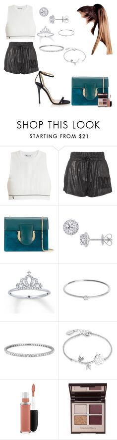 """Do you remember the taste of my lips"" by moonlightbabby ❤ liked on Polyvore featuring T By Alexander Wang, Topshop, Salvatore Ferragamo, Jimmy Choo, EWA, Jennifer Meyer Jewelry, Tiffany & Co., Disney, MAC Cosmetics and Charlotte Tilbury"