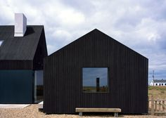Rodić Davidson Architects has become the latest architecture studio to build a house on the shingle landscape of Dungeness beach in Kent, England