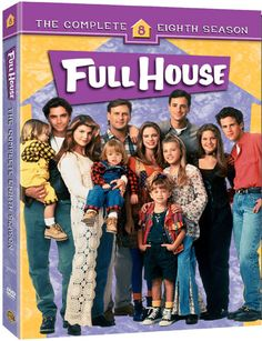 Full House - Press Release and New Package Art For 8th Season & Complete House Series