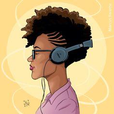 Amina 12x12 Art Print by MarcusKwame on Etsy https://www.etsy.com/listing/511732657/amina-12x12-art-print
