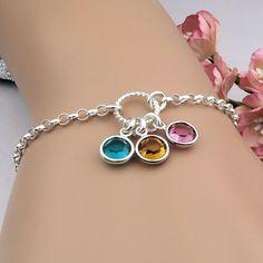 Birthstone Bracelet Mother S By Roseandraven