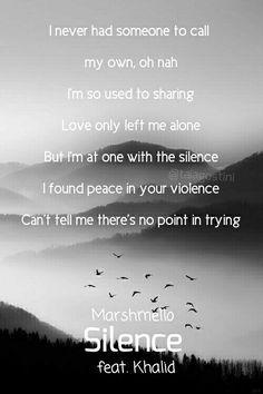 Silence ft. Khalid - Marshmello