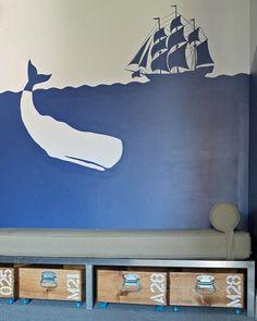 Wonderful storage idea! Via Apartment Therapy - Best of Both Worlds: Stylish & Organization Toy Storage
