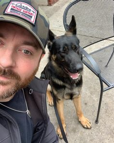 Country music singer-songwriter Chris Young's dog, Porter, is Get to know the handsome German Shepard here.
