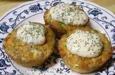 Tuna or Salmon Muffins...This looks like it is similar to the broccoli cakes.