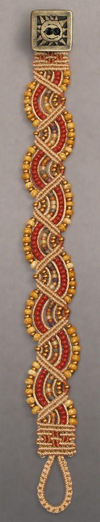 Good color mix macrame bracelet
