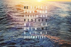 "Sometimes we prepare ourselves to ""Wade in the water / For God's gonna trouble the waters"" and sometimes we just reach out our hand for a rescue. ""Giving up"" can mean a fuller surrender, a beautiful release."