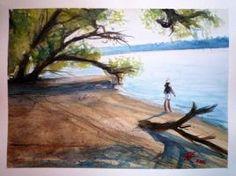Danube impression by zoleeart
