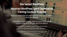 This One Second WordPress Course is great for Web Design - Seo Traffic Courses. Learn what you need to before you make money online. Make Money Online, How To Make Money, First Second, Article Writing, Training Courses, Web Development, Work On Yourself, Wordpress, Web Design