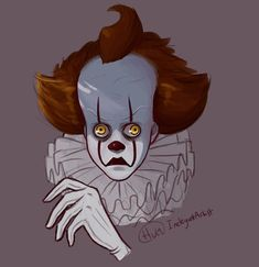 Arte Horror, Horror Art, Horror Movies, Horror Villains, Creepy Cute, Scary, Pennywise The Dancing Clown, Simple Art, Simple Style